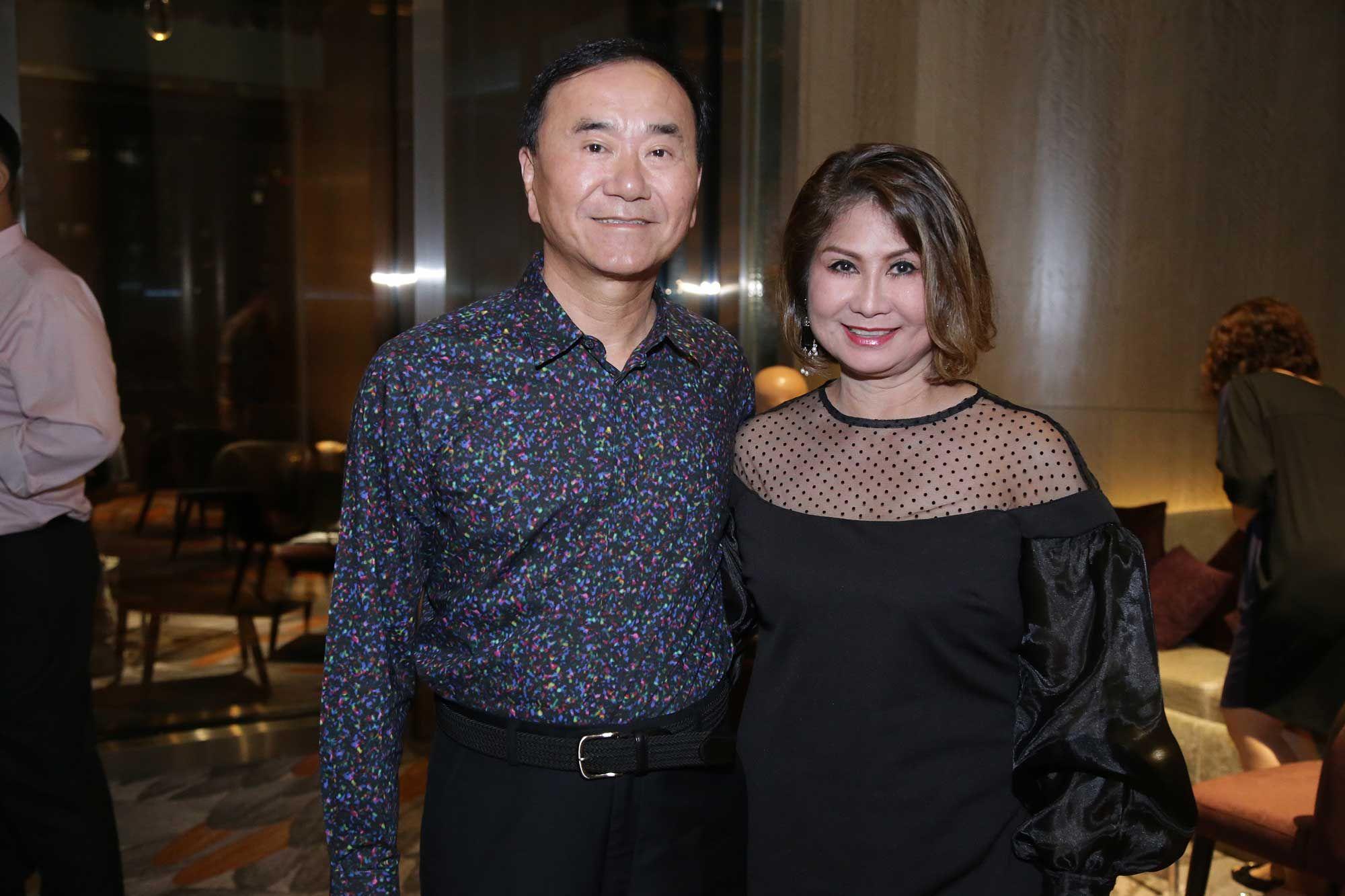 Dato' Allen Tan and Datin Shirley Tan