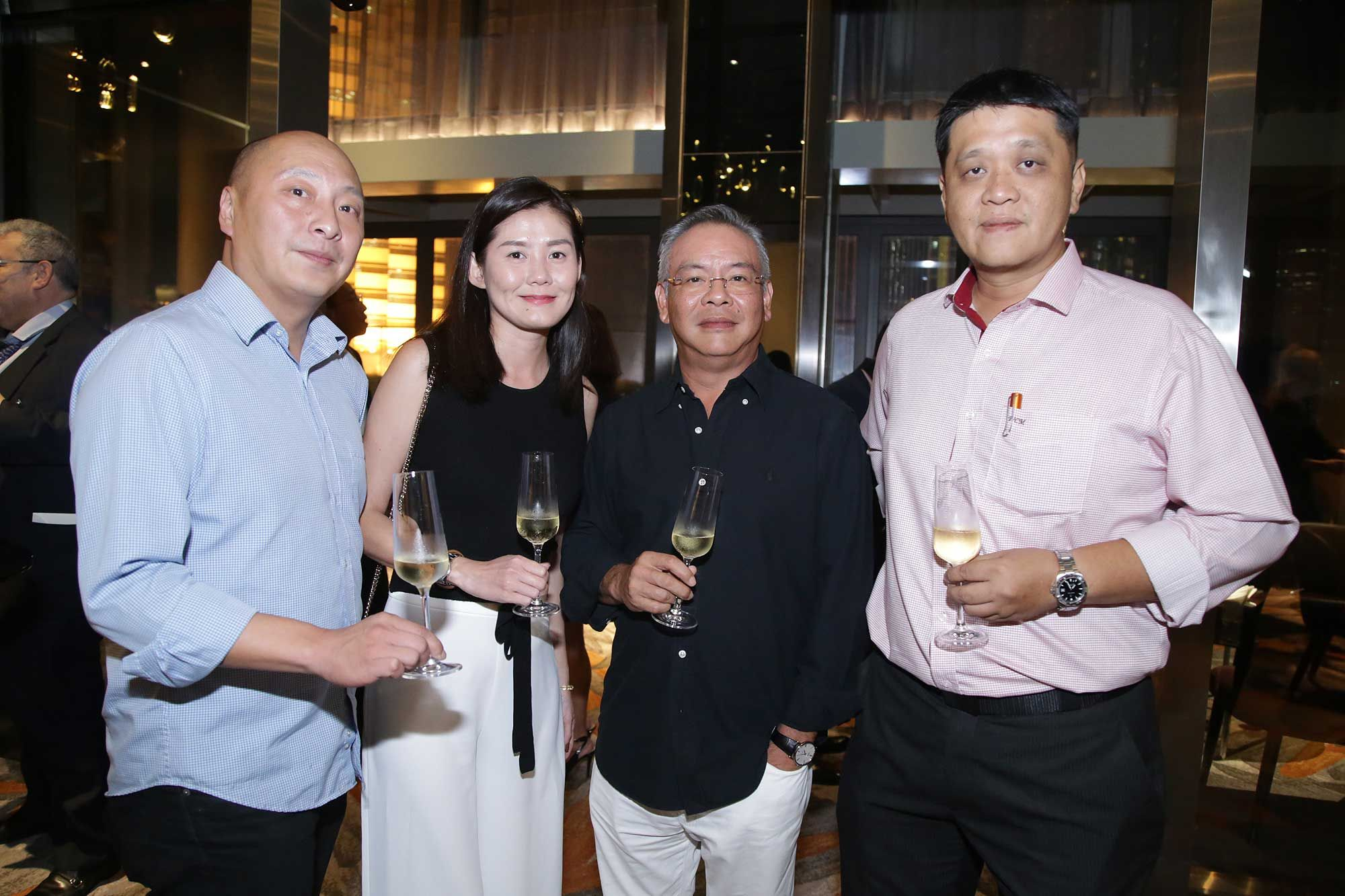 James Ho, Nickie Khiew, YC Wong and CM Wong