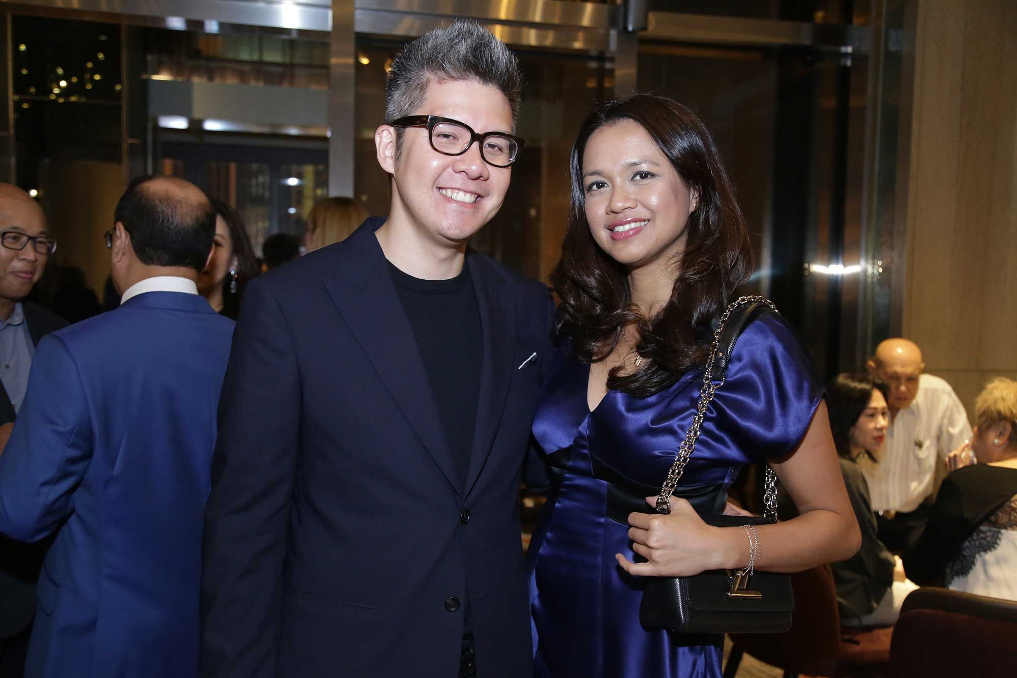 Robin Koh and Jasmine Kamal