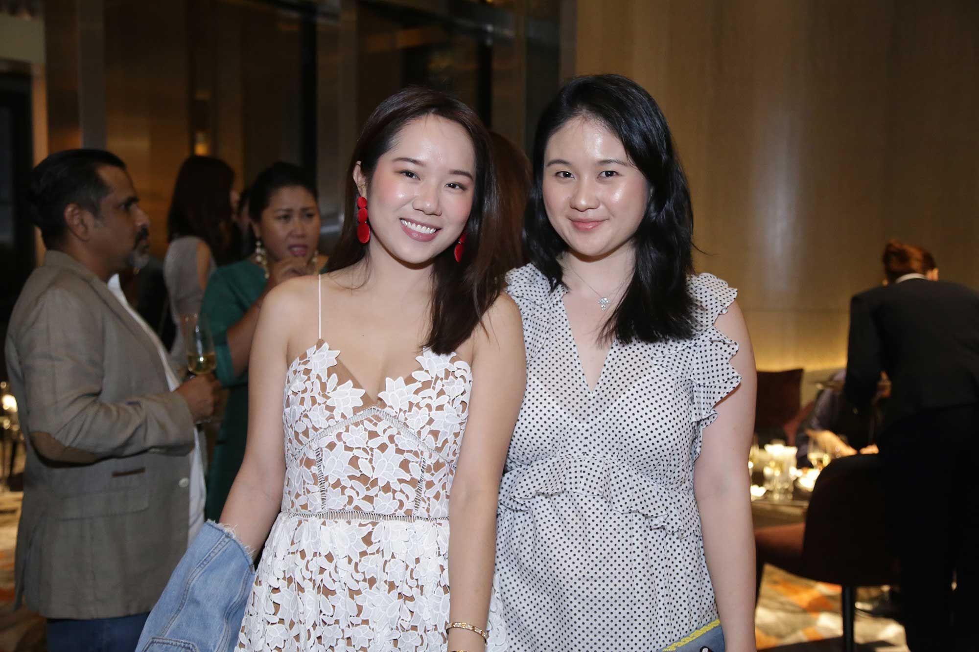 Jessica Lee and Pei Jun Tan