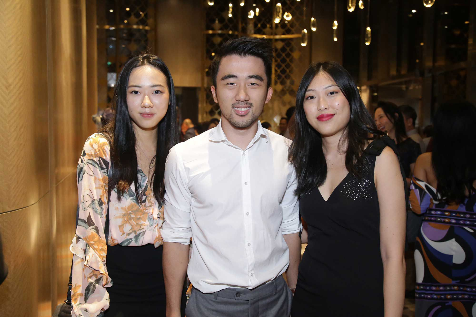 Michelle Teo, Ronald Teo and Li Ling Ng