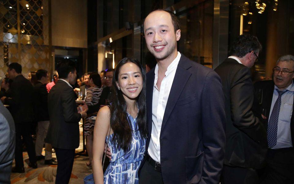 Li Sheen Mah and Dion Tan