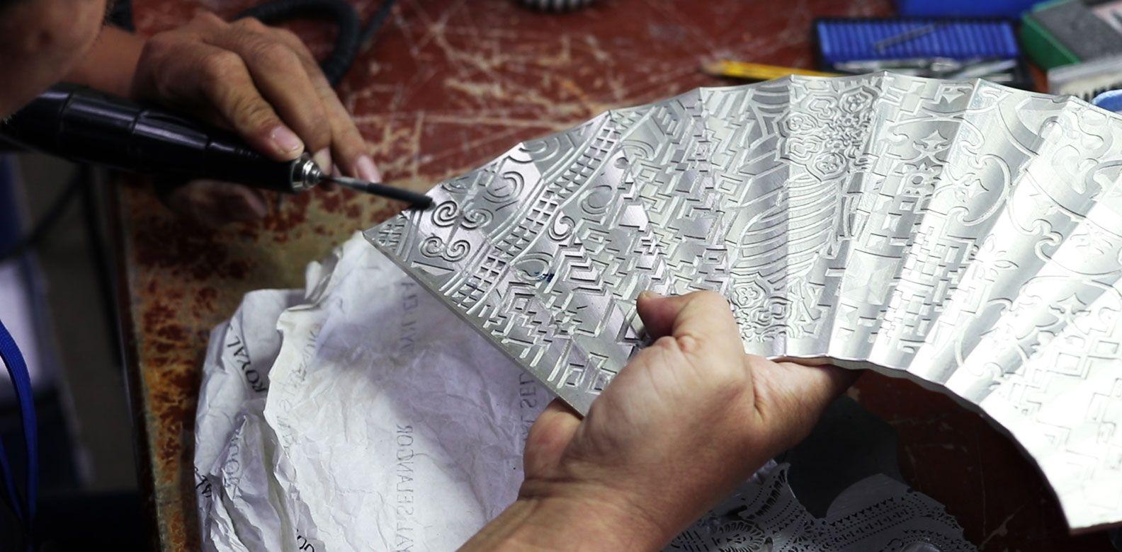 Mandarin Oriental Kuala Lumpur & Royal Selangor Present: Making The Mandarin Oriental Fan