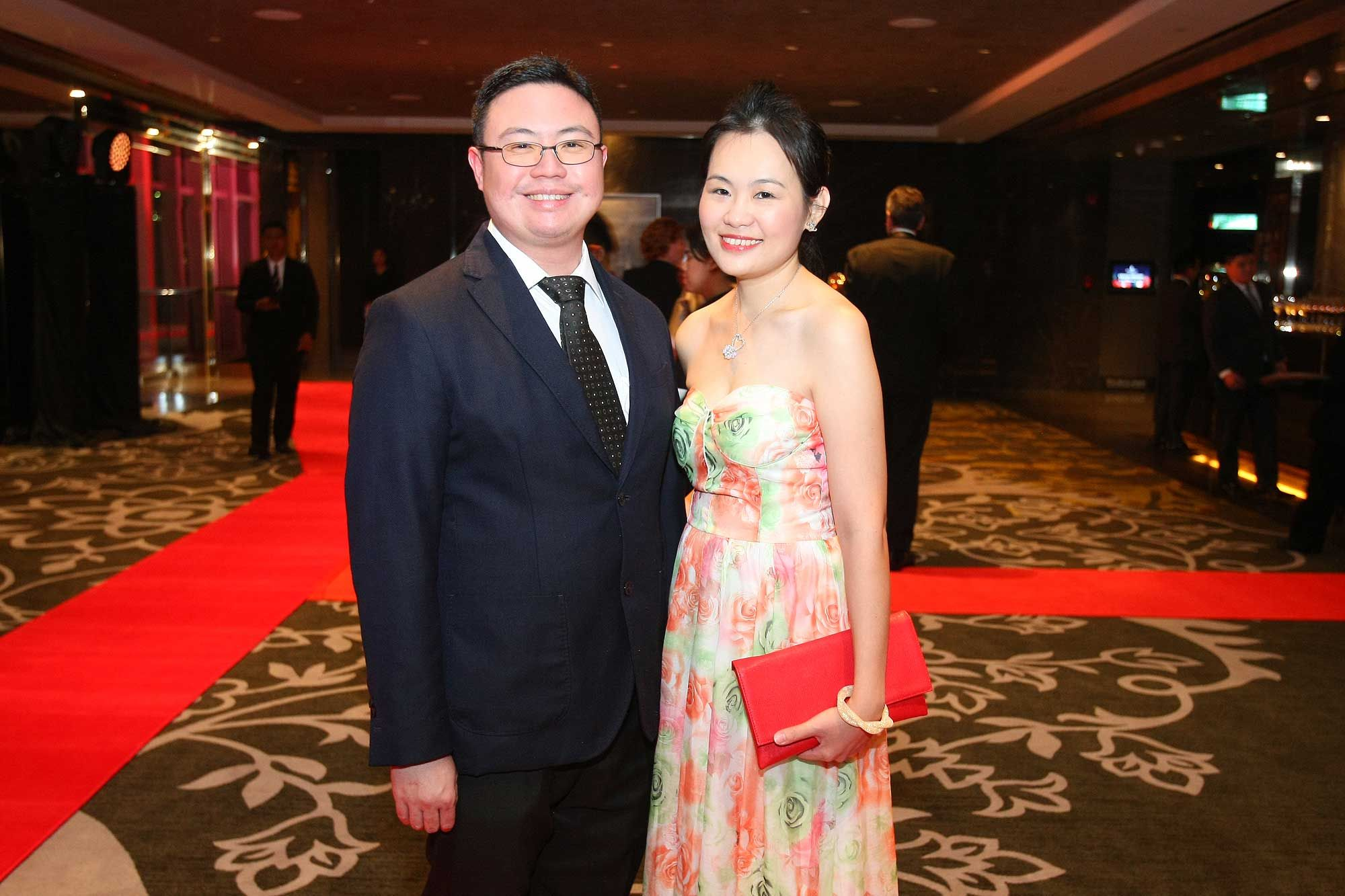 Ronny Yong and Cyanne Lim