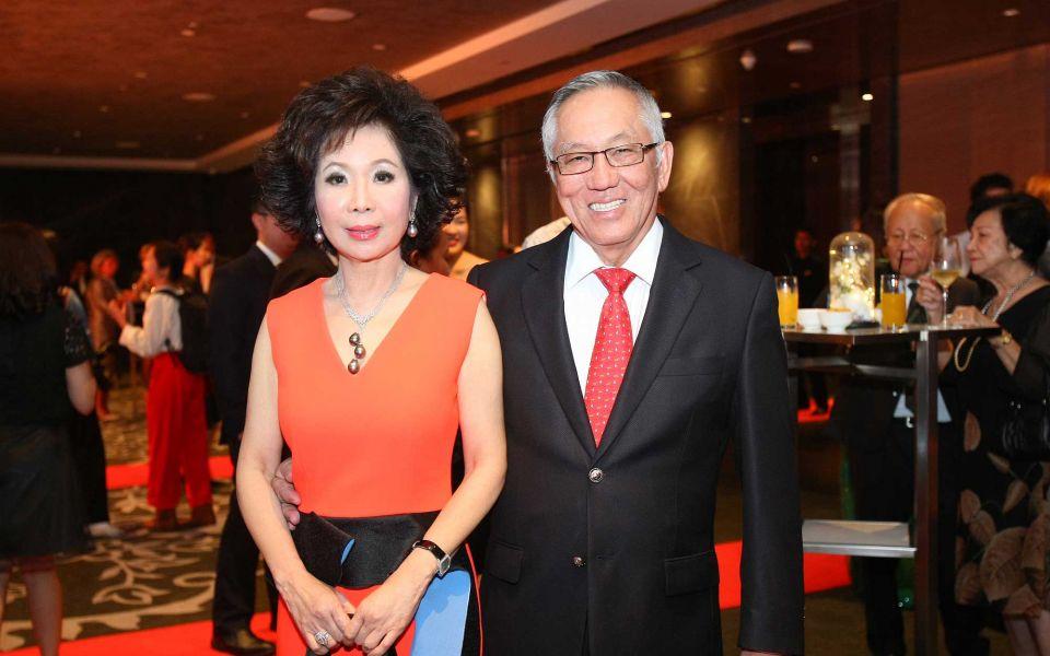 Datin Sri Barbara Yap and Dato' Sri Yap Teiong Choon