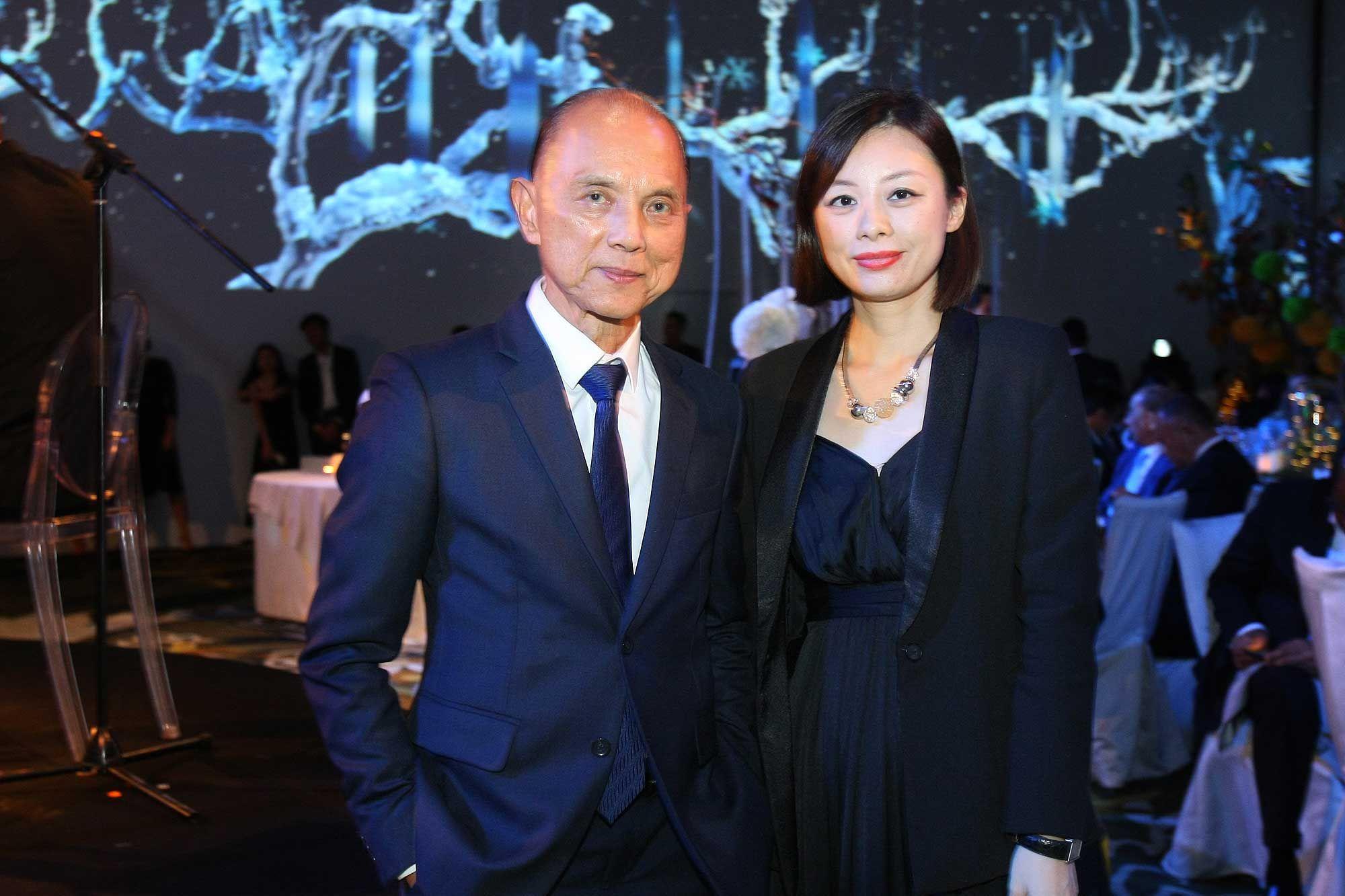 Datuk Jimmy Choo and Emily Choo