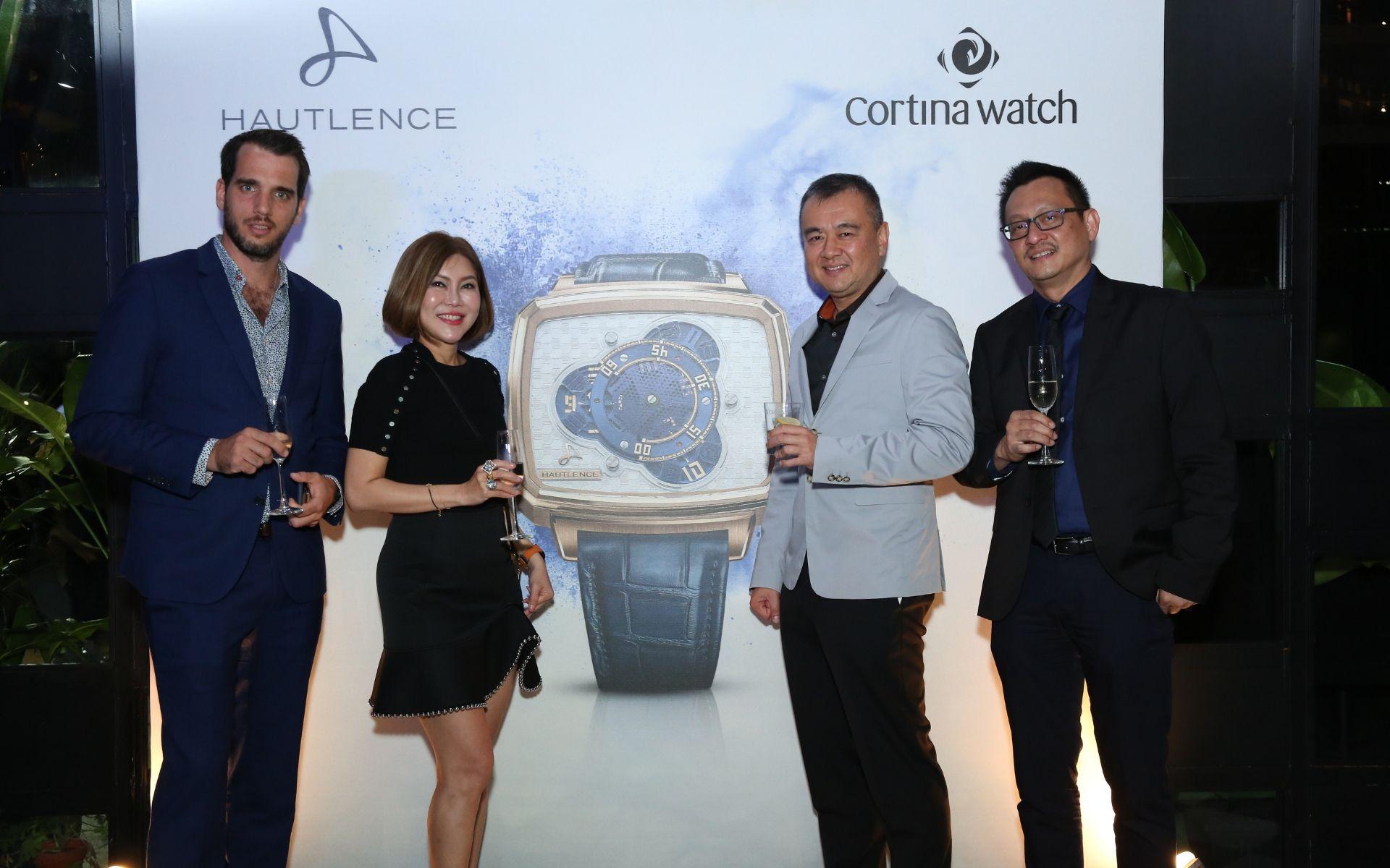 Bertrand Meylan,Sharon Lim, Dato Kuek Boon Haw and Alvin Leow