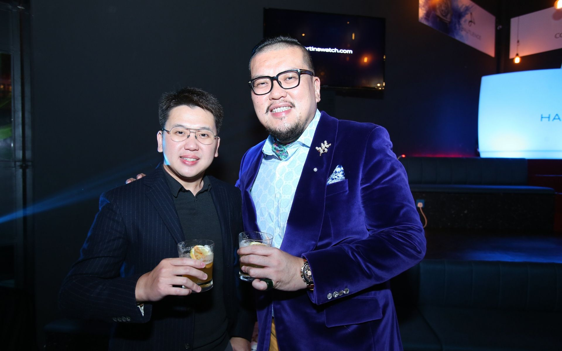 Jacky Lim and James Chow