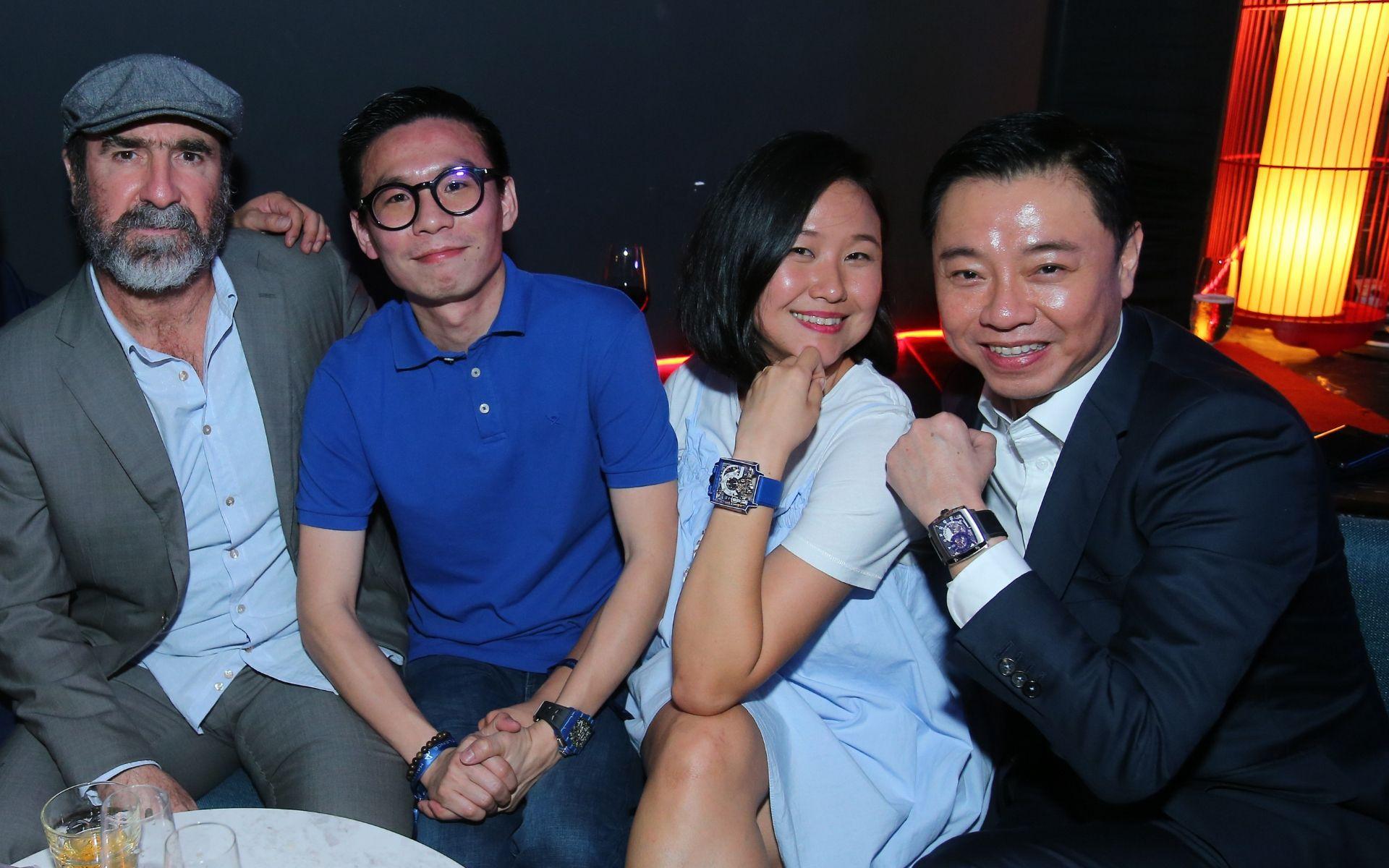 Eric Cantona, Jason Teo, TIina Chok and Tay Liam Khoon