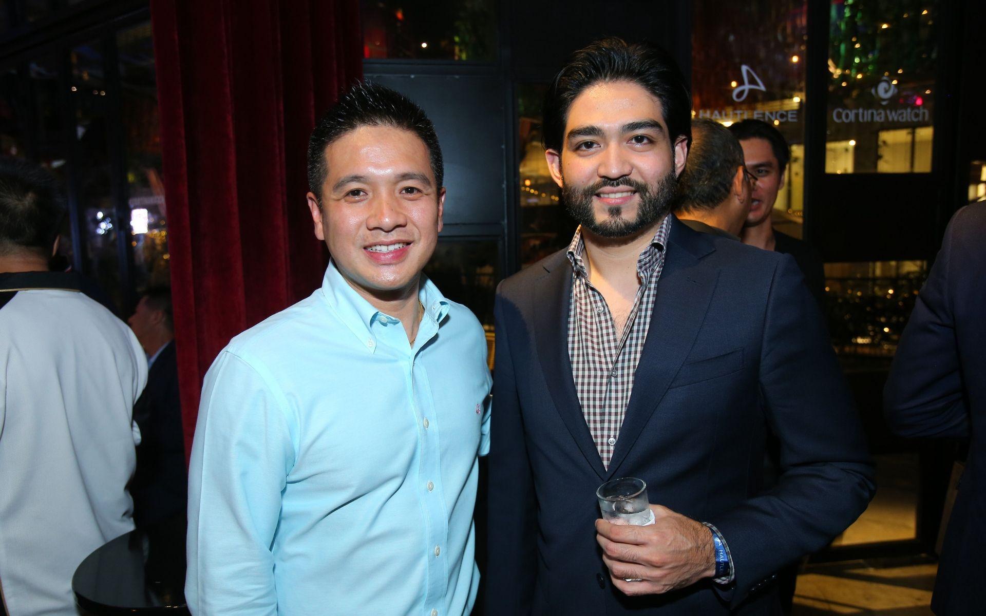 Wong Jin Hun and Anas Zawawi