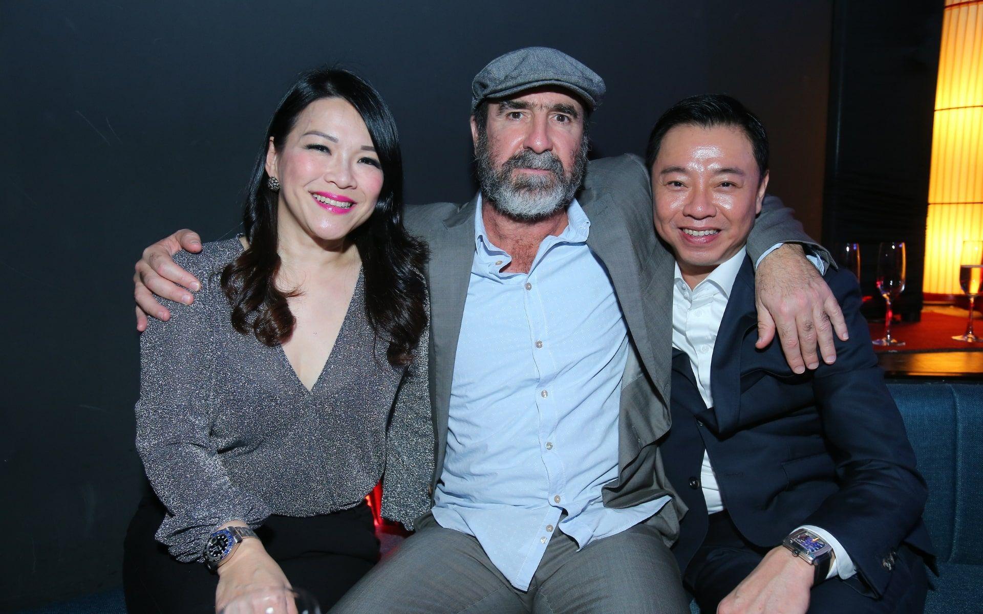 Tanny Tee, Eric Cantona and Tay Liam Khoon