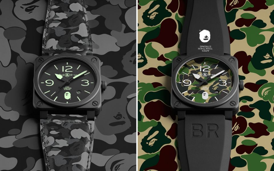 BR03-92 25th Anniversary (left) and BR03-92 Green Camo (Photo: Bell & Ross)