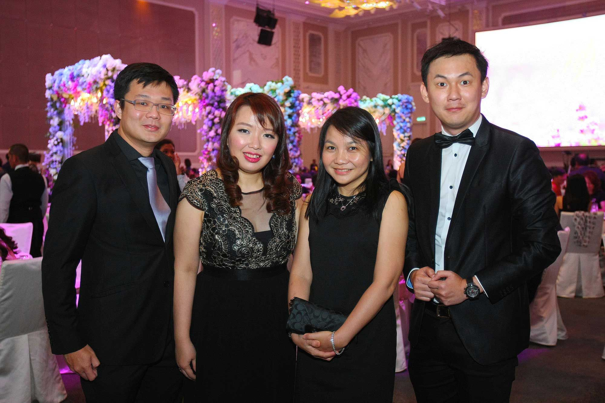 Lawrence Yong, Jean Toh, Ng Mei San and Allan Cheong