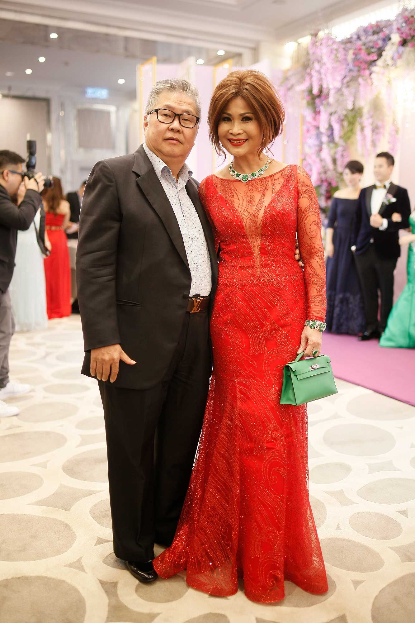 Dato' YK Lee and Datin Kelly Chen