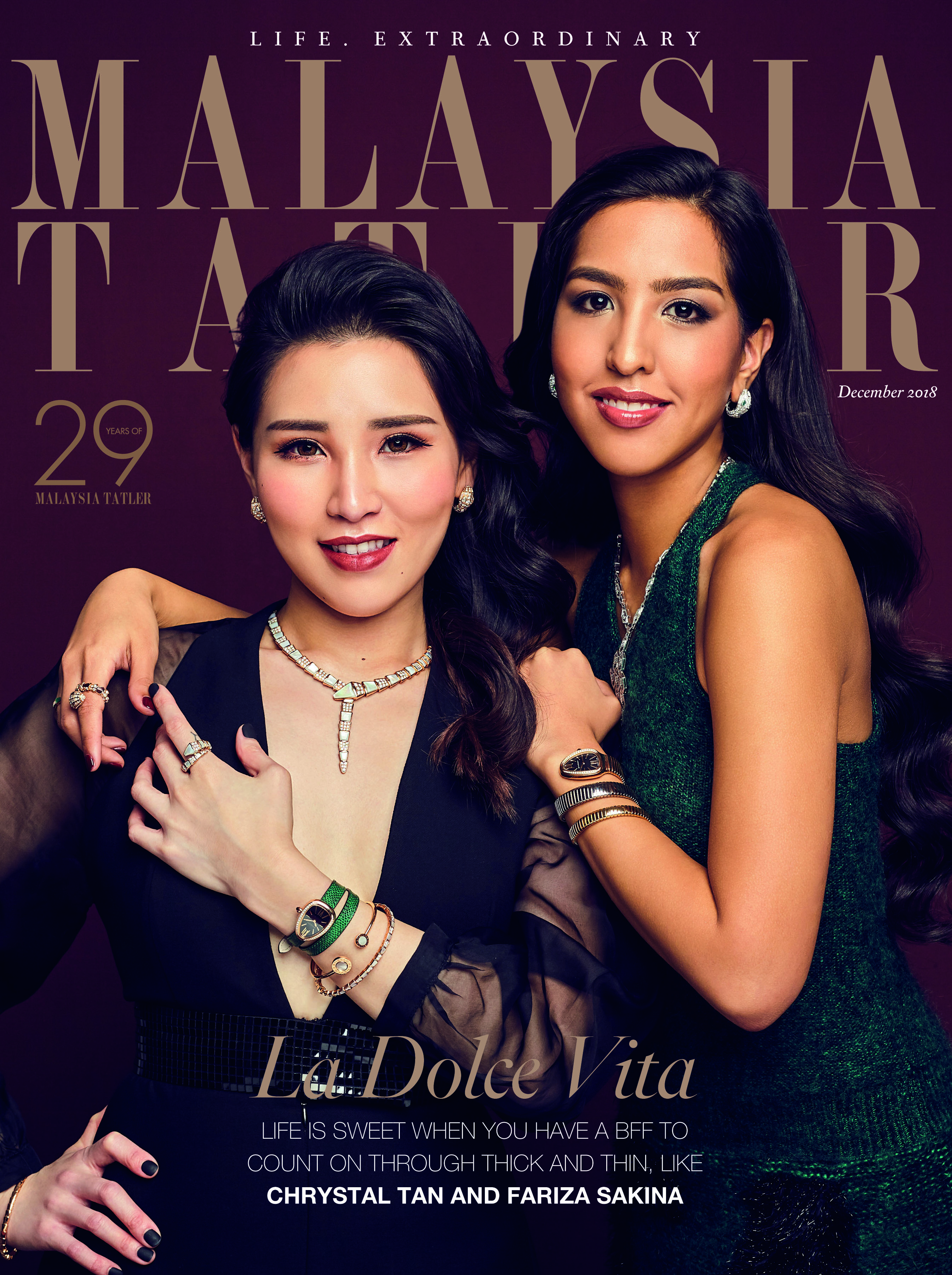 Chrystal Tan and Fariza Sakina
