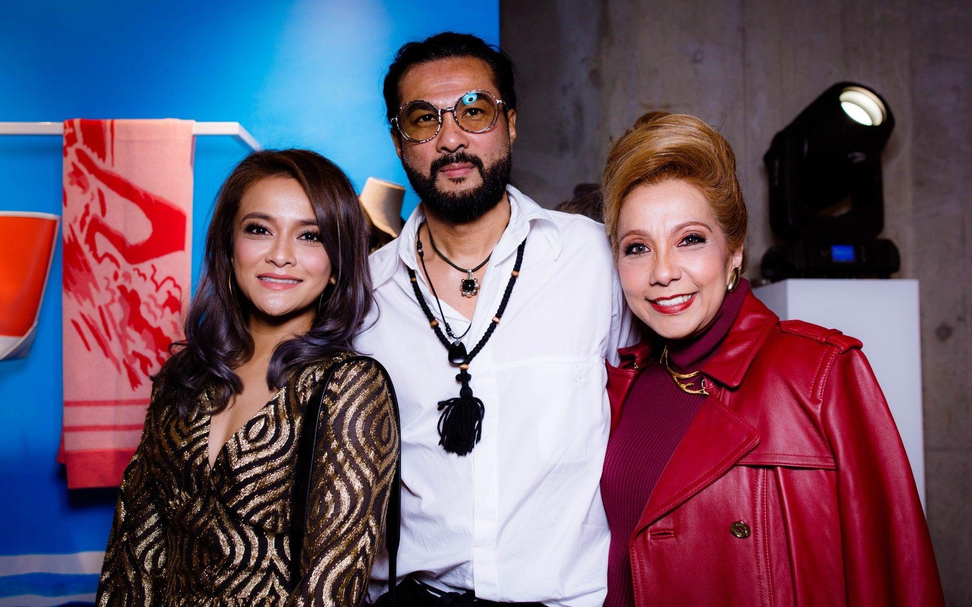 Sazzy Falak, Dato' Sri Bernard Chandran and Datin Sri Chris Abishegam