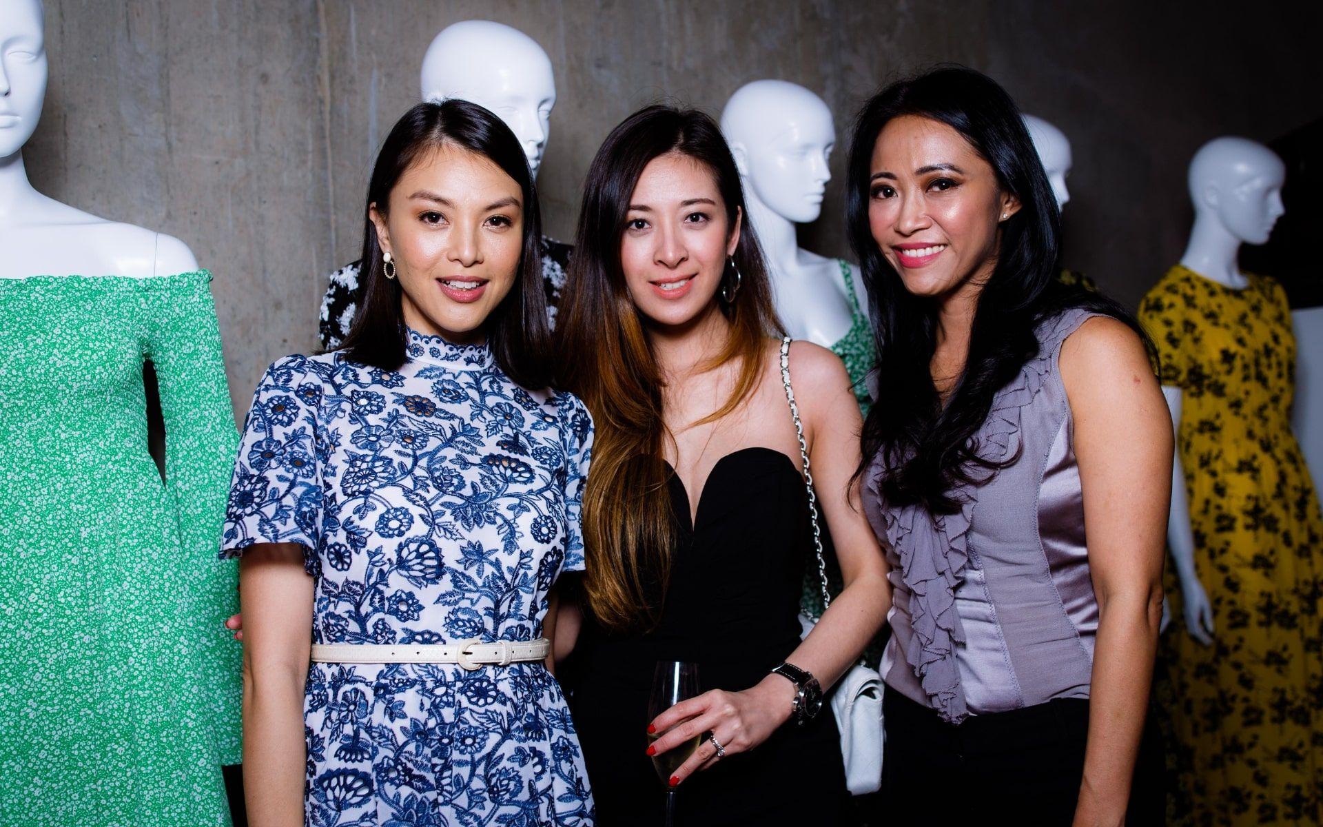 Carmen Soo, Elizabeth Thea and Rozie Mastor