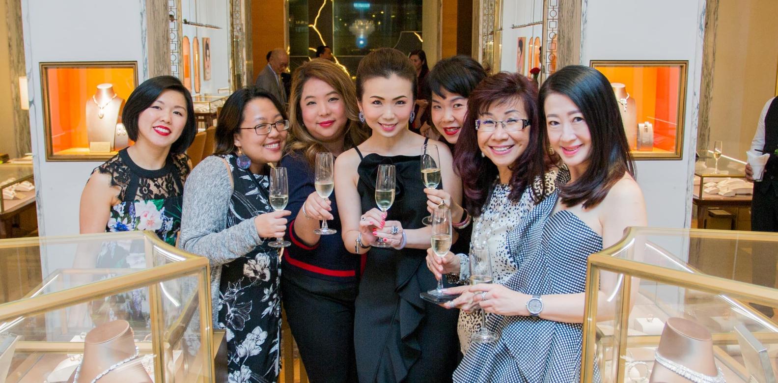 June Tan, Lily Ong, Yap Ai Leen, Pauline Gan, Teo Sze Lin, Florence Fang and Christine Cheah