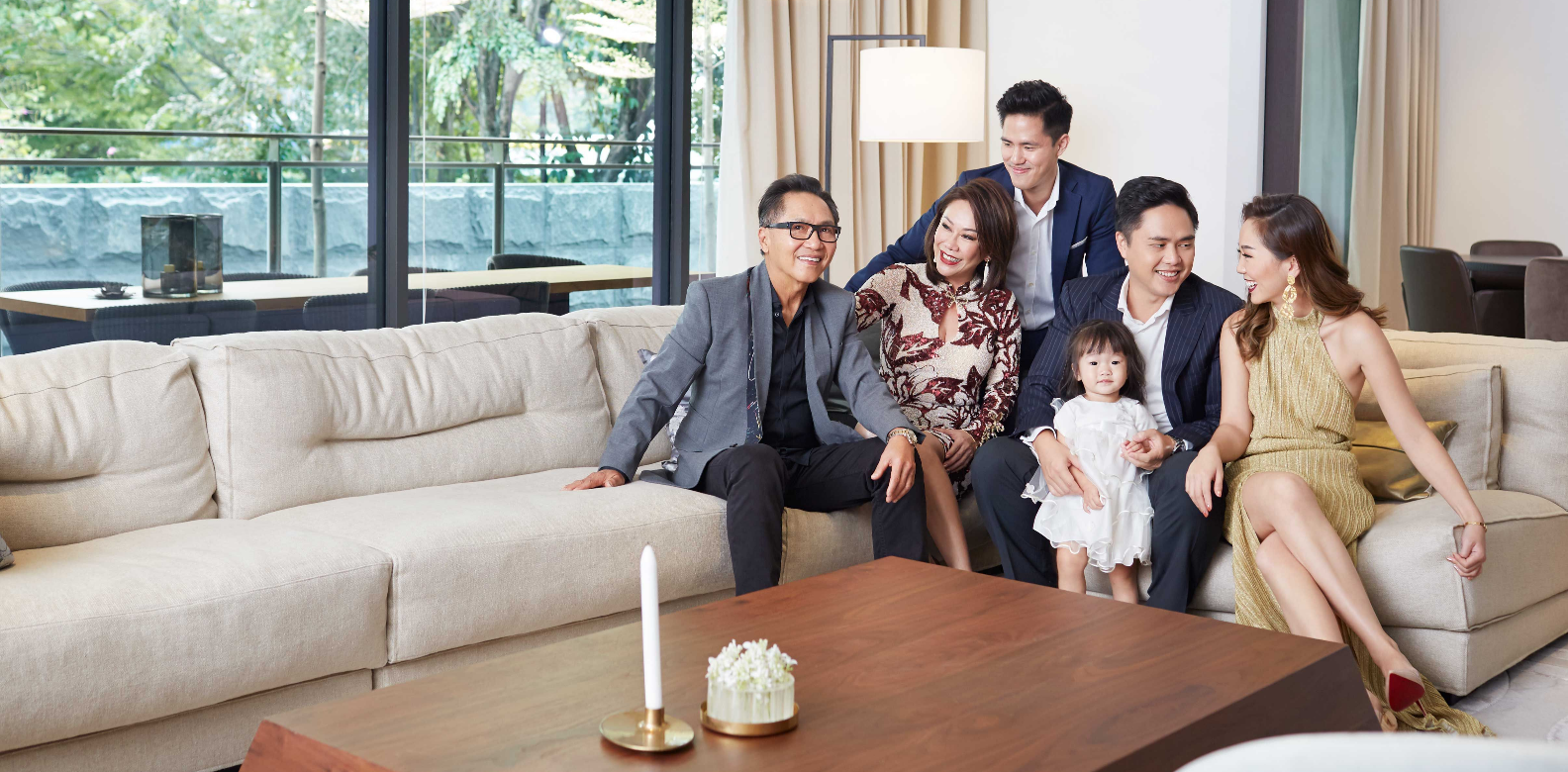 watch how 3 generations live and prosper under one roof in