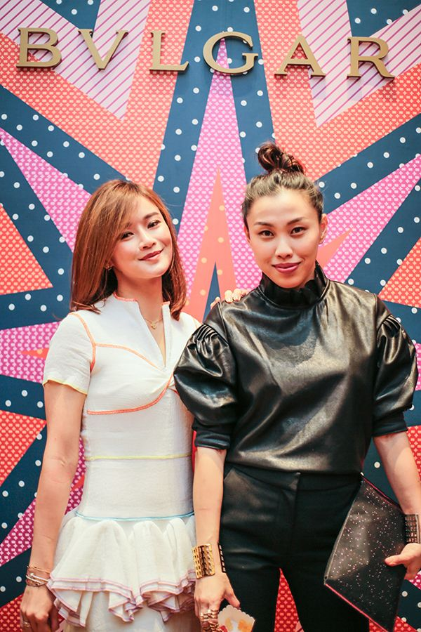 Datin Sri Eannes Chop and Angie Lai-Tay