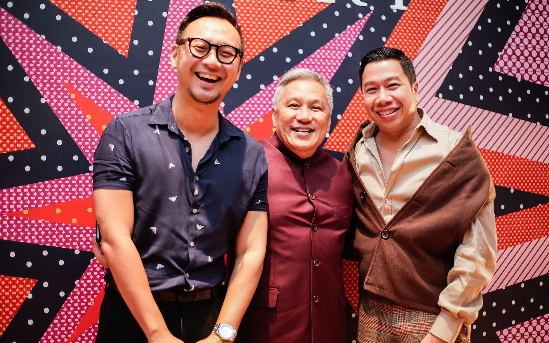Yun Wen Lai, Chef Wan and Ferhat Nazri-Aziz