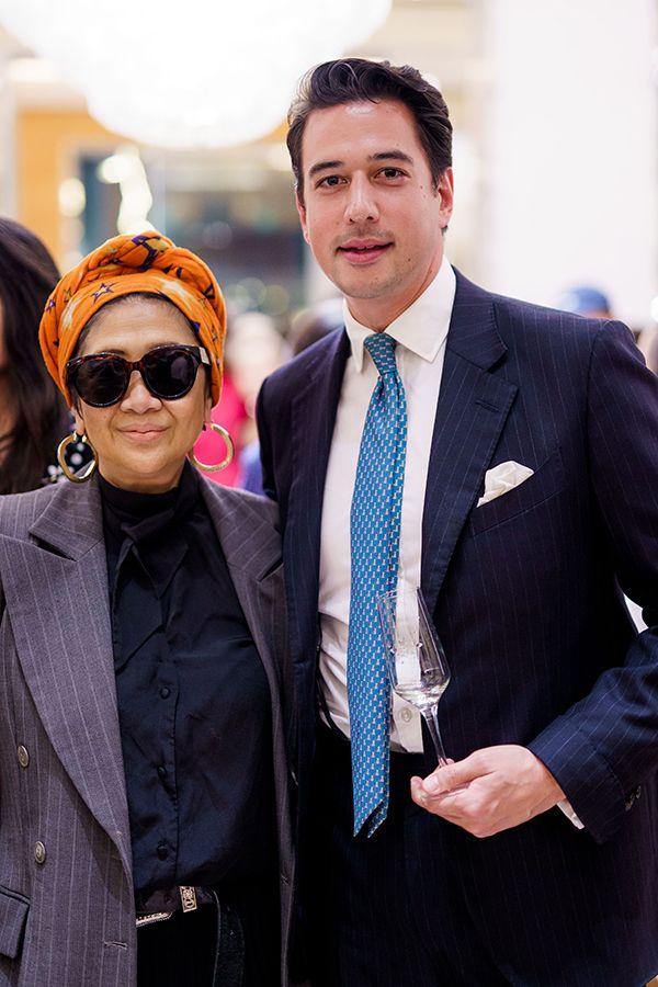Maggie Abang Saufi and Dr Nicholas Chew