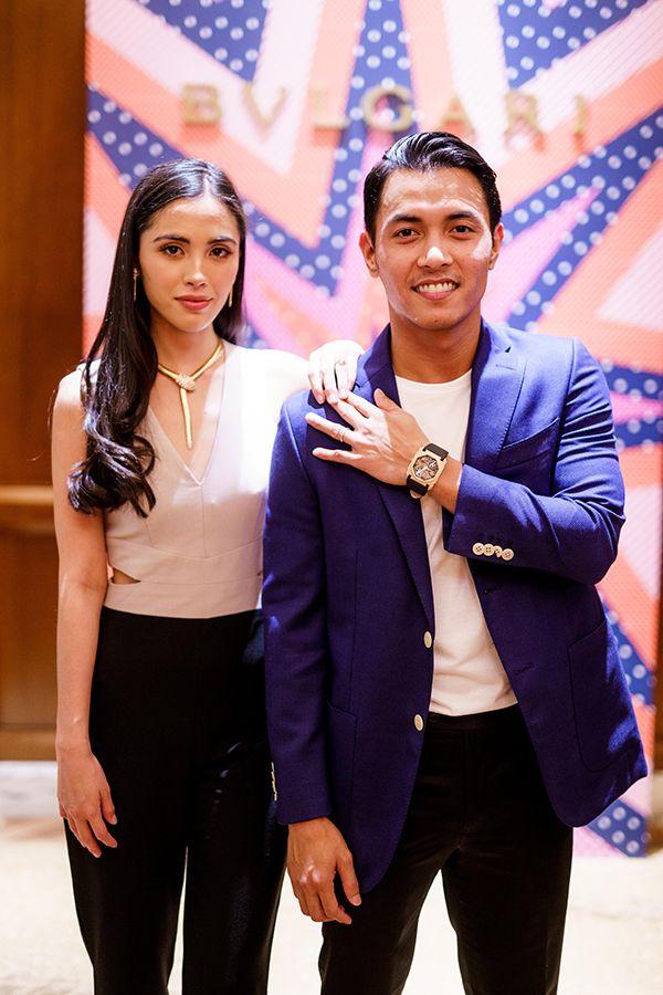 Tengku Iman Afzan and Tengku Abu Bakar
