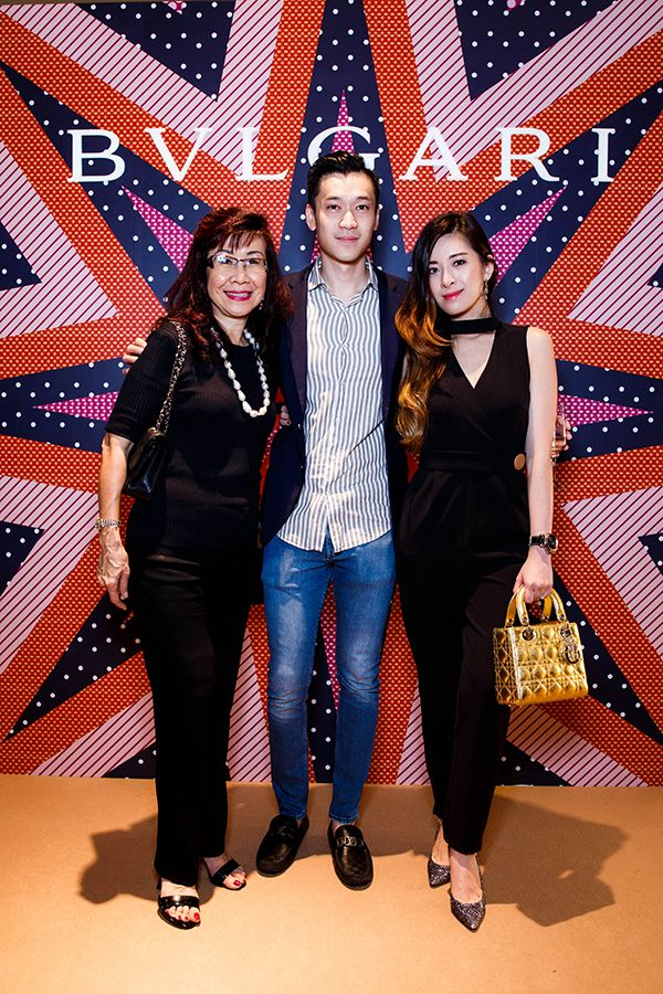 Florence Fang, Jannio Shun and Elizabeth Thea Lee