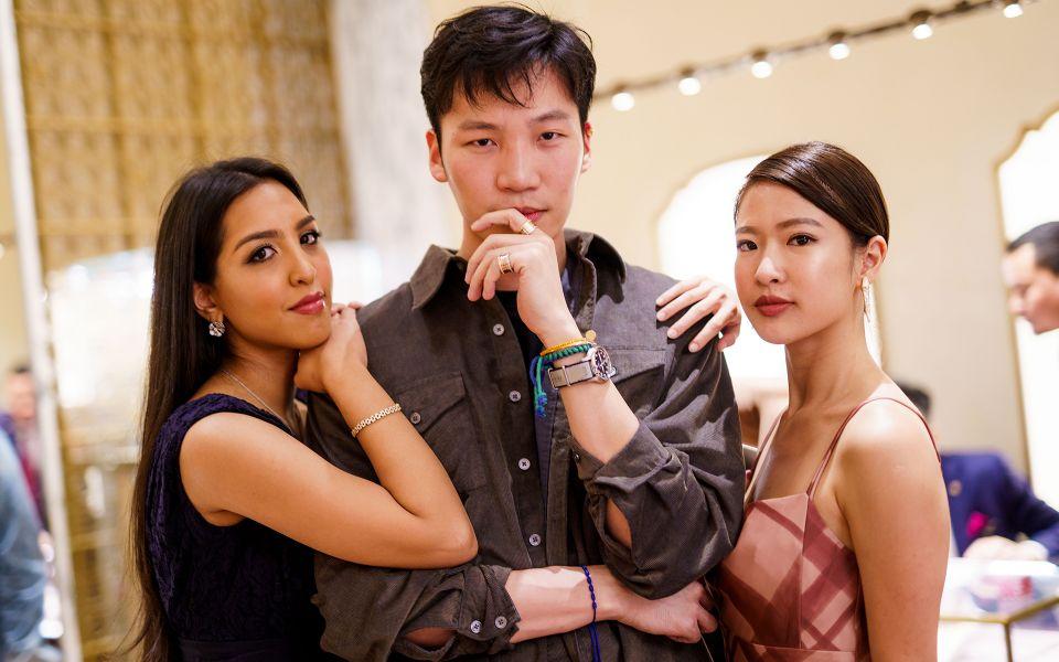 Fariza Sakina, Koh Li Tim and Bella Kuan
