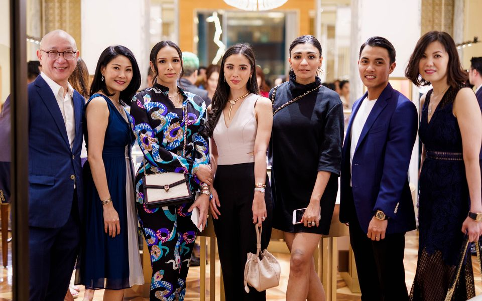 Danny Chan, Renee Ng, Suraiya Moiz, Tengku Iman Afzan, Sarah Illyas, Tengku Abu Bakar and Jenny Cheah