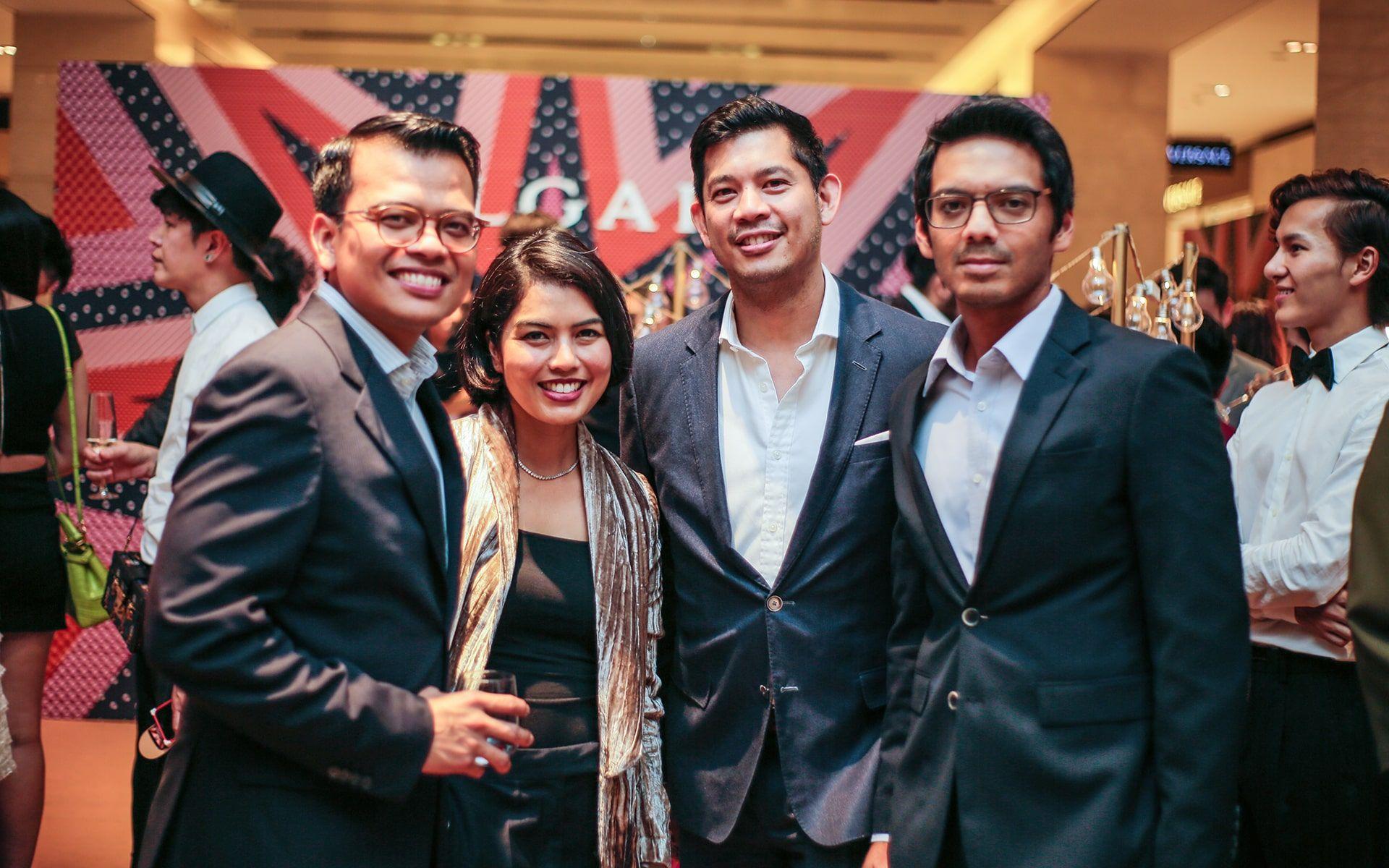 Khairul Rifaei, Azura Abdul Rahman, Shazlan Sufian and Firhan Yasser
