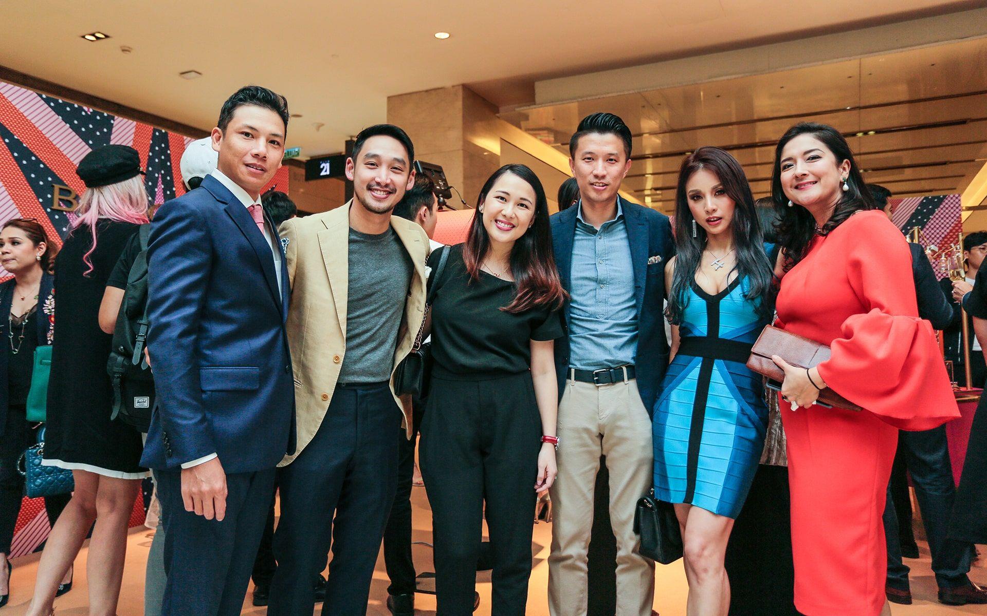 Bryan Lee, Donovan Ng, Claire Ng, Vincent Seah, Hannah Tan and Nicole Sia