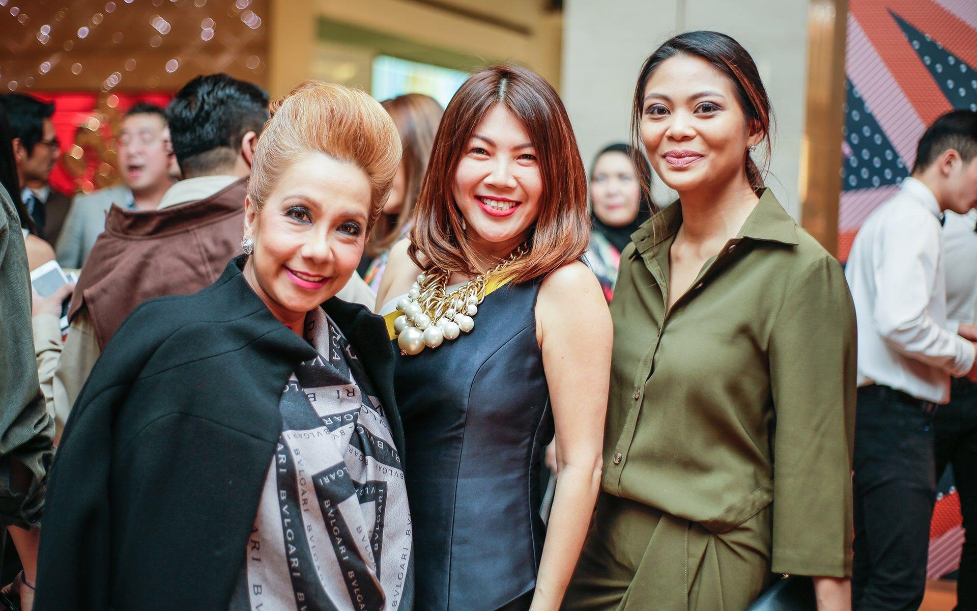 Datin Sri Chris Abishegam, Nicole Lee and Zaireen Ibrahim