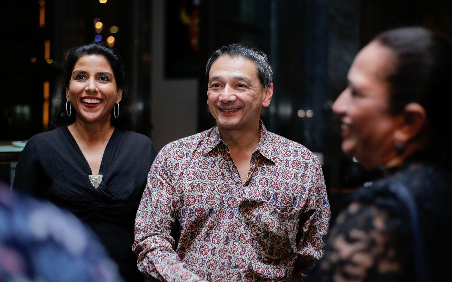Datin Shalini Ganendra and  Dato' Ir Dennis Ganendra