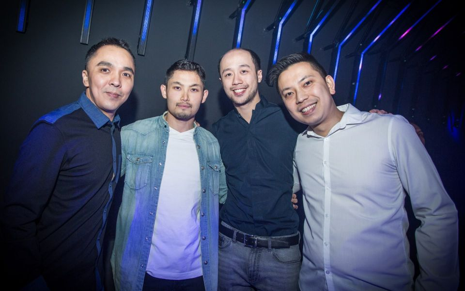 Kenneth Vun, Morvin Tan, Dion Tan and Benson Tay