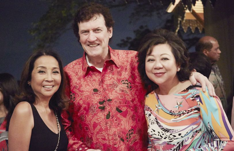 Datuk Seri Farah Khan, Dato' Steve Day and Datin Su Day