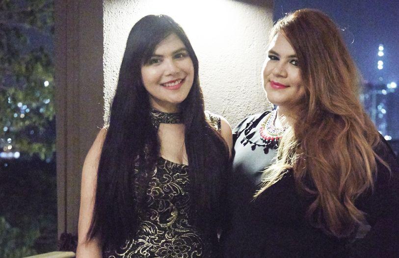 Natasha Hashim and Melissa Hashim