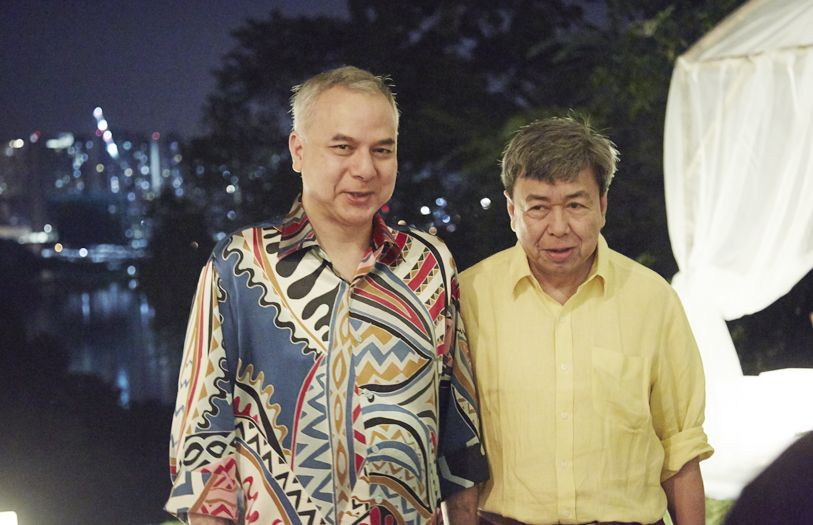 HRH Sultan Raja Nazrin Shah and HRH Sultan Sharafuddin Idris Shah