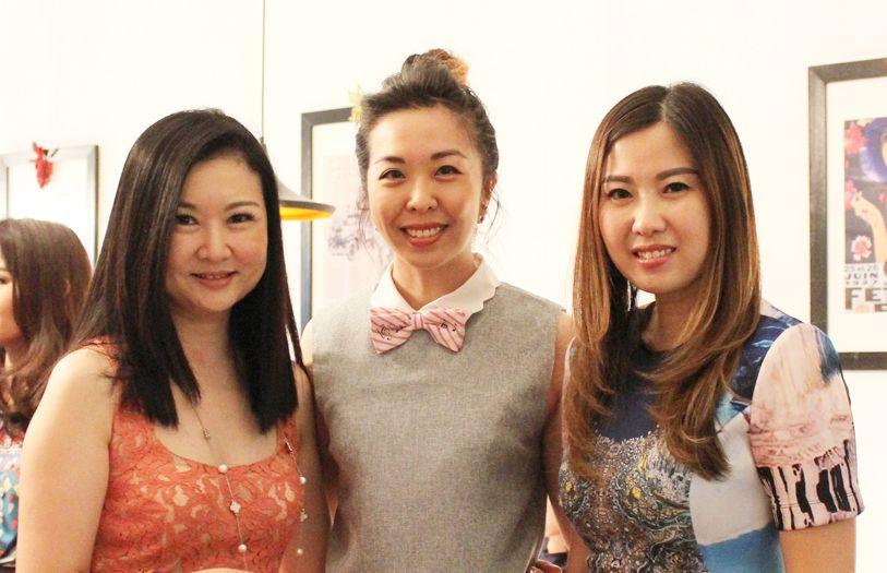 Datin Kok Yul Shin, Lim Ai Chiin and Angela Ong
