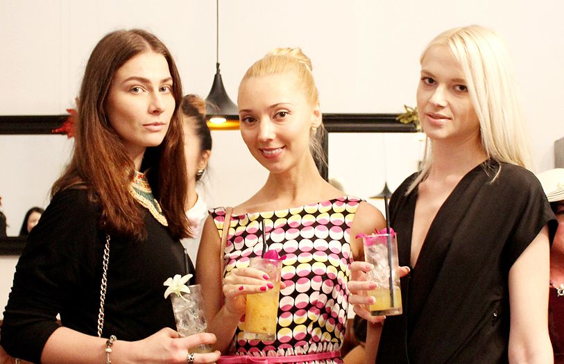 Irina Kamynina, Olga Chichina and Datin Olga Babkina