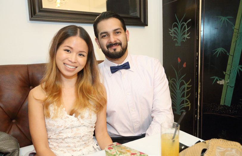 Nicole Goh and Jayden Lewis