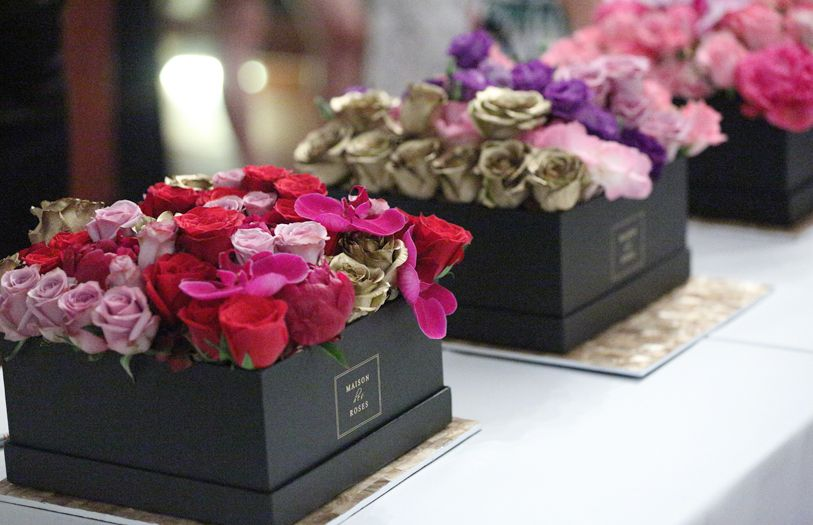 Maison des Roses was officially introduced to a handful of VIP guests and members of media in an intimate cocktail party.