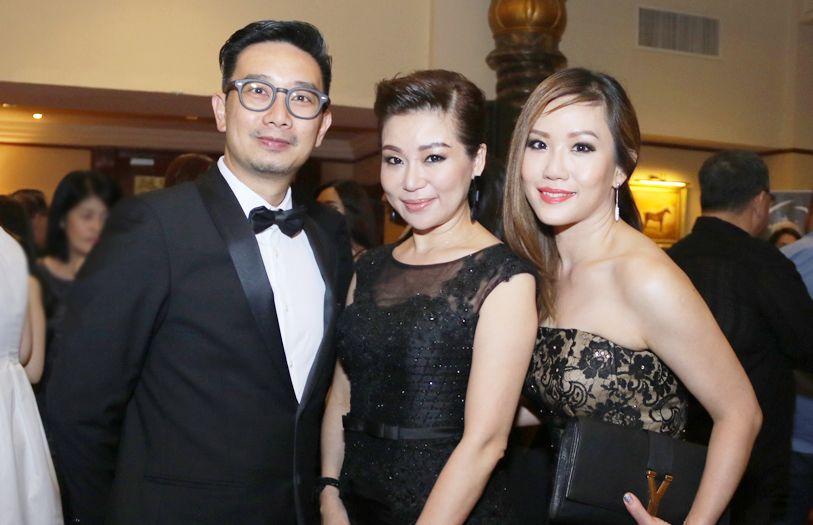 Alvin Chang, Elaine Tan and Juliet Hong