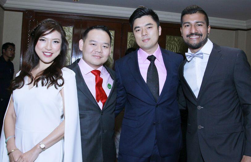 Anabelle Co-Martinent, Kong Len Win, Hong Teng Lok and Roen Cien