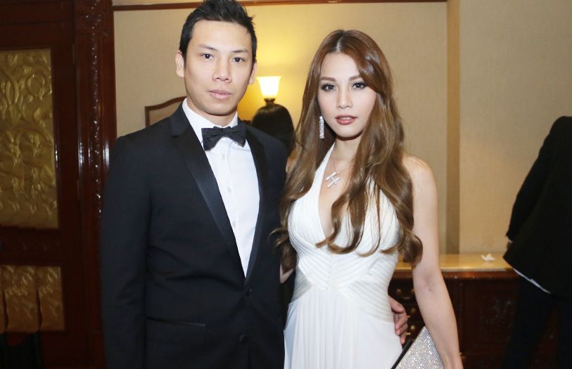 Bryan Lee and Hannah Tan