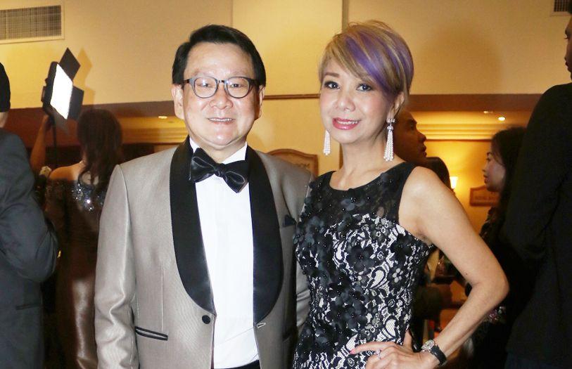 Dato' Richard Teo and Datin Winnie Loo