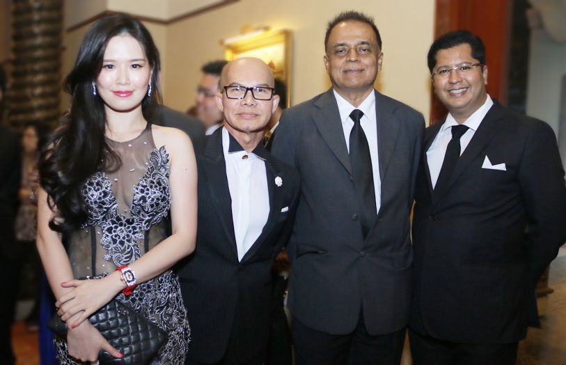 Raechel Chong, Wan Ahmad, Syed Kamal and Johannis