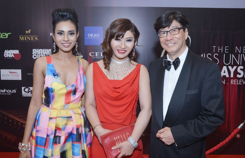 Sugeetha Chandran, Dr Melissa Foo and Dr Foo Chi Chean