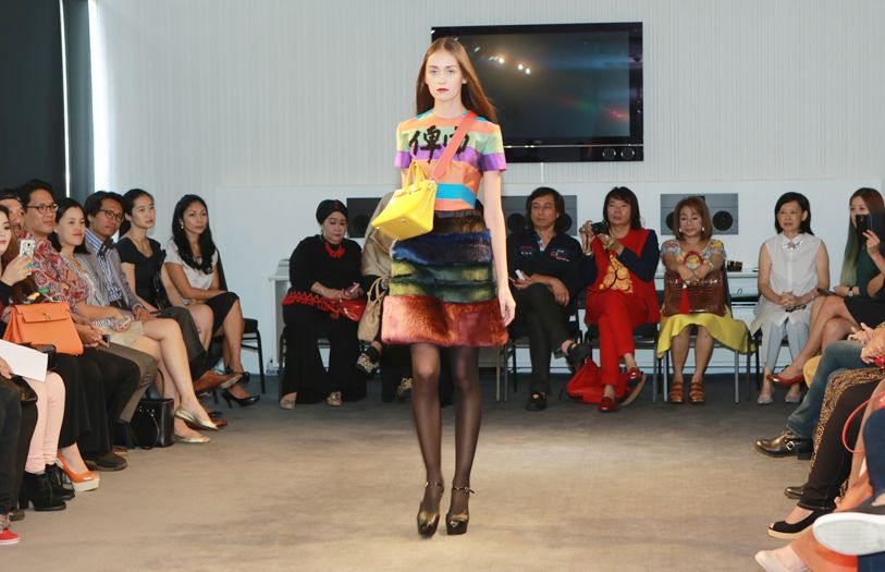 The event also saw a fashion show by Dato' Bernard Chandran