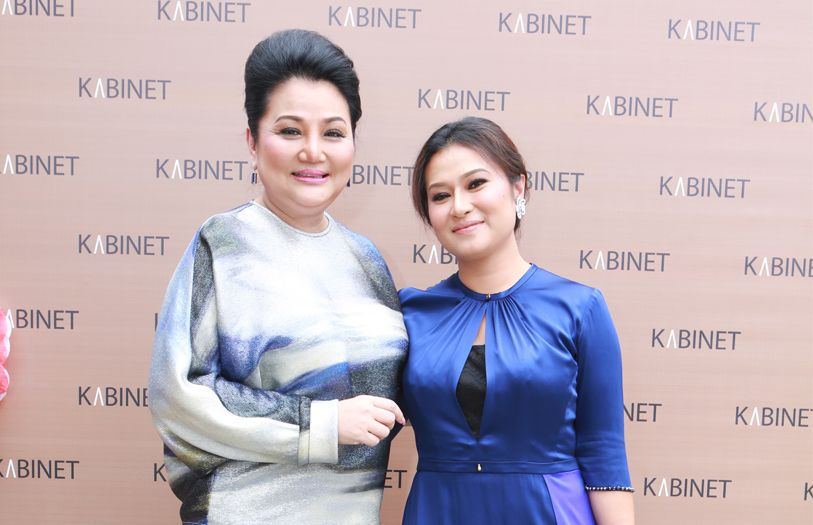 Elegance Club founder and managing director Datuk Tracy Ong and Kabinet CEO and founder Dato' Sri Rozita Ramelan
